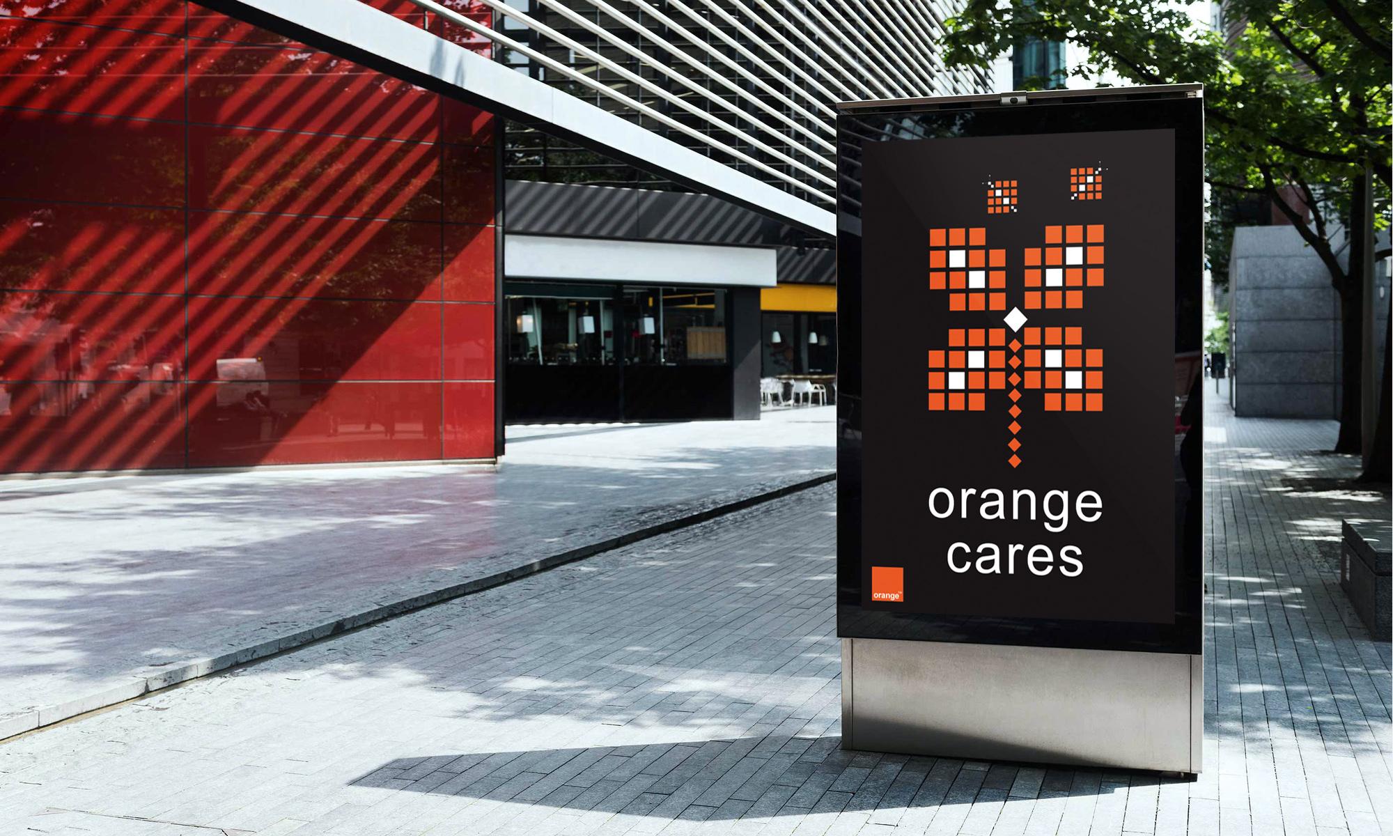 Orange Work Advertising