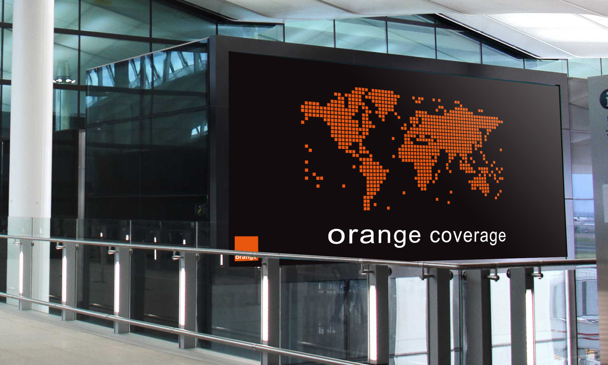 Orange Work Advertising